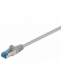 RB-LAN Patchcord S/FTP (PiMF) LSZH szary Cat.6a, 1.0m