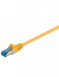 RB-LAN Patchcord S/FTP (PiMF) LSZH żółty Cat.6a, 2.0m