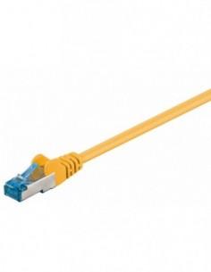 RB-LAN Patchcord S/FTP (PiMF) LSZH żółty Cat.6a, 20m