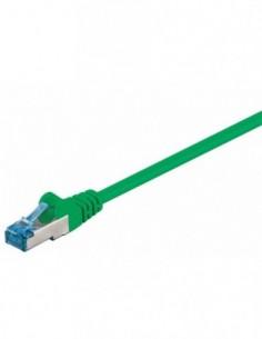 RB-LAN Patchcord S/FTP (PiMF) LSZH zielony Cat.6a, 0.5m