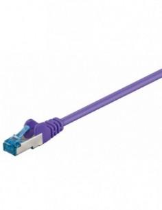 RB-LAN Patchcord S/FTP (PiMF) LSZH fioletowy Cat.6a, 2.0m