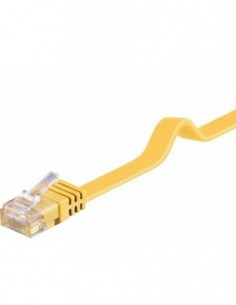 RB-LAN PatchCord Kat.6 UTP płaski żółty, 10m