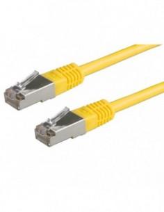 ROLINE PatchCord S/FTP Kat.5e 20m żółty
