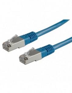 ROLINE PatchCord S/FTP Kat.5e 20m niebieski