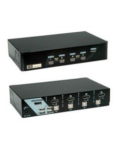 ROLINE Switch KVM 1U-4PC...