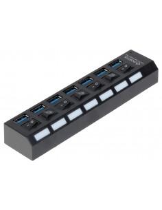 HUB USB 3.0 HUB-USB3.0-1/7...