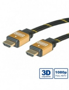 ROLINE Kabe Gold HDMI High...