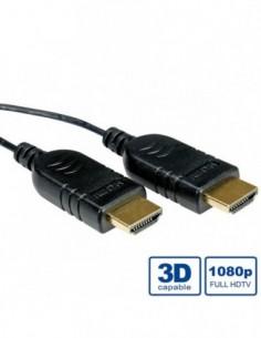 ROLINE Kabel Slim HDMI z...