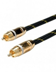 ROLINE Kabel Cinch GOLD RCA...