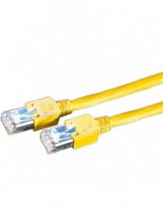 DRAKA Patchcord S/FTP Kat.5e żółty 15m
