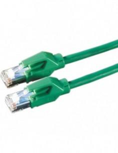 DRAKA Patchcord S/FTP Kat.6 H zielony 1m