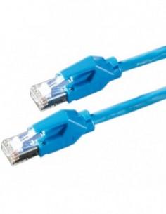 DRAKA Patchcord S/FTP Kat.6 H niebieski 10m