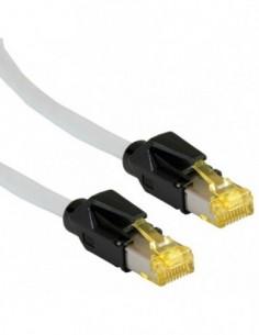 DRAKA PatchCord S/FTP (PiMF) Kat.6a UC900/TM31 zielony 0.5m