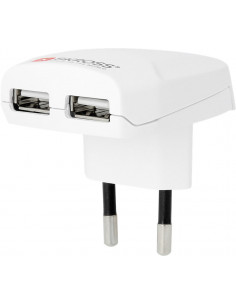 SKROSS Ładowarka + 2x USB...