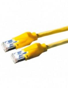 DÄTWYLER PatchCord S/FTP (PiMF) Kat.6 LSOH żółty 10m