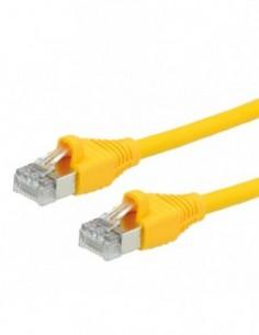 DÄTWYLER PatchCord S/FTP (PiMF) Kat.6 LSOH AMP żółty 1m