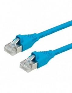 DÄTWYLER PatchCord S/FTP (PiMF) Kat.6 LSOH AMP niebieski 1m