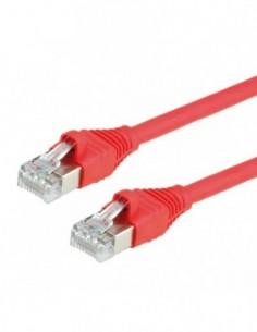 DÄTWYLER PatchCord S/FTP (PiMF) Kat.6 LSOH AMP czerwony 2m