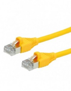 DÄTWYLER PatchCord S/FTP (PiMF) Kat.6 LSOH AMP żółty 5m