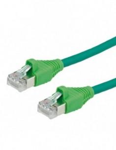 DÄTWYLER PatchCord S/FTP (PiMF) Kat.6 LSOH AMP zielony 15m