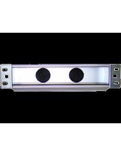 "10"" Panel 1U aluminiowy pod..."