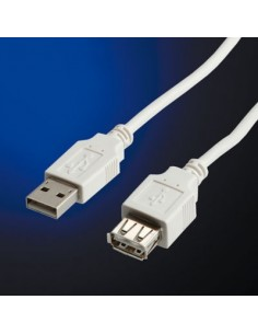 VALUE Kabel USB 2.0 A-A M/F...