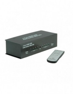 VALUE Switch KVM HDMI 4xUSB...