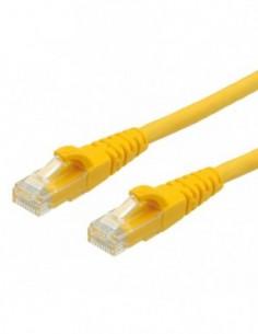 ROLINE PatchCord UTP Kat.6 LSOH Component Level żółty 0.5m