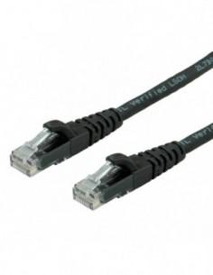 ROLINE PatchCord UTP Kat.6 LSOH Component Level czarny 0.5m