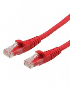 ROLINE PatchCord UTP Kat.6 LSOH Component Level czerwony 7m