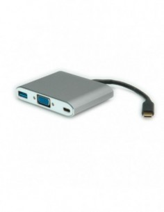 ROLINE Adapter USB3.1 na VGA