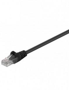 RB-LAN Patchcord UTP Czarny Cat.5e, 0.5m