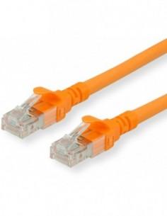 ROLINE Patchcord Kat.6A S/FTP (PiMF) Component Level LSOH pomarańczowy 0.5m