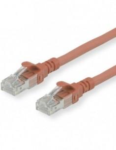 ROLINE Patchcord Kat.6A S/FTP (PiMF) Component Level LSOH brązowy 1m