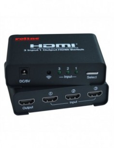 ROLINE Switch 4K2K HDMI, 3-way