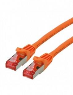 ROLINE S/FTP Patchcord Cat.6 Component Level, LSOH, pomarańczowy, 10.0 m