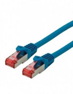 ROLINE S/FTP Patchcord Cat.6 Component Level, LSOH, niebieski, 10.0 m