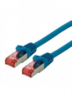 ROLINE S/FTP Patchcord Cat.6 Component Level, LSOH, niebieski, 20.0 m