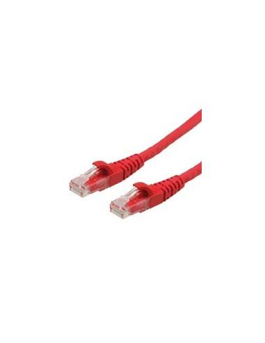 ROLINE PatchCord UTP Kat. 6 0.5m LSOH Czerwony