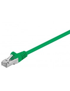 RB-LAN Patchcord F/UTP zielony Cat.5e, 10.0m