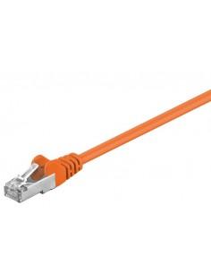 RB-LAN Patchcord F/UTP pomarańczowy Cat.5e, 1.0m