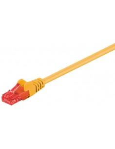 RB-LAN Patchcord U/UTP żółty Cat.6, 0.5m