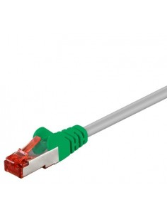 RB-LAN Patchcord S/FTP (PiMF) crossover szary Cat.6, 10.0m