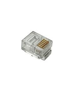 Konektor RJ12 CAT3 UTP 6p6c...