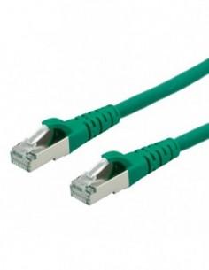 ROLINE PatchCord S/FTP (PiMF) Kat. 6 1m LSOH Zielony