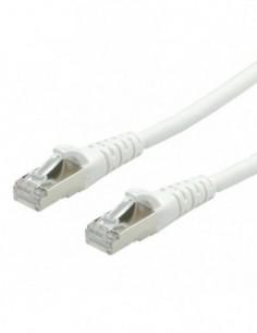 ROLINE PatchCord S/FTP (PiMF) Kat. 6 1m LSOH Biały