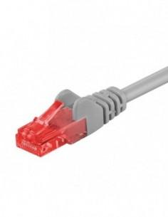 RB-LAN Patchcord U/UTP LSZH szary Cat.6, 1.0m