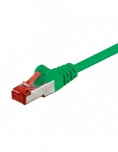 RB-LAN Patchcord S/FTP (PiMF) LSZH zielony Cat.6, 10m